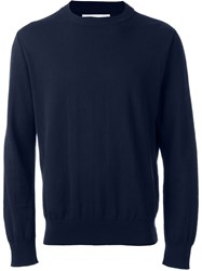 Our Legacy Crew Neck Jumper Blue