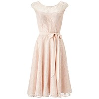 Jacques Vert Lace Prom Dress Light Pink