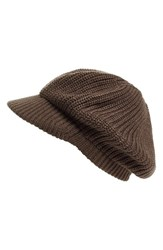 Echo Women's 'Gibson Girl' Knit Hat Grey Gunmetal