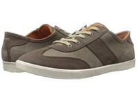 Ecco Collin Retro Sneaker Dark Clay Tarmac Men's Shoes Brown