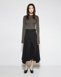 Issey Miyake Leafage Crossover Skirt