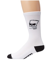 Neff Trouble Socks Little Kid Big Kid White Men's Crew Cut Socks Shoes