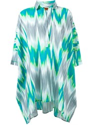 Missoni Ikat Print Tunic Multicolour