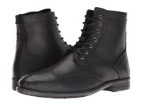 Robert Wayne Jacques Black Men's Lace Up Boots
