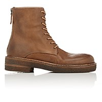 Marsell Women's Back Zip Boots Brown