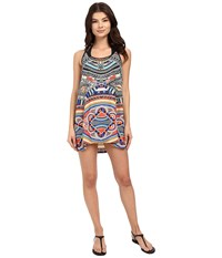 Rip Curl Tribal Myth Cover Up Black Women's Swimwear