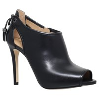 Michael Michael Kors Jennings Bootie Stiletto Heeled Ankle Boots Black