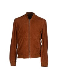 Blk Dnm Coats And Jackets Jackets Men Brown