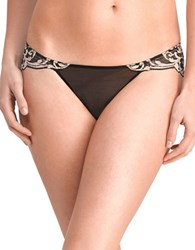 Natori Envious Lace Bikini Bottom Cafe