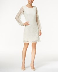 Styleandco. Style And Co. Lace Shift Dress Only At Macy's Vintage Cream