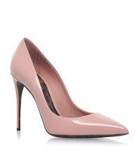 Dolce And Gabbana Marianna Patent Pumps Female Light Pink