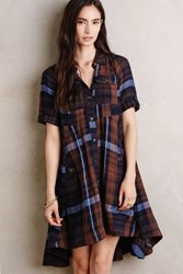 Anthropologie Lexington Shirtdress Brown