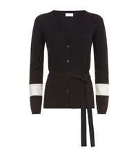 Escada Sport Colour Block Belted Cardigan Female Black