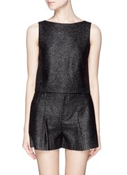 Alice Olivia 'Luanna' Boat Neck Sleeveless Top