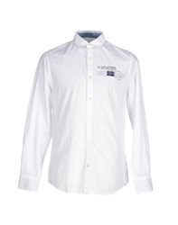 Napapijri Shirts Shirts Men White