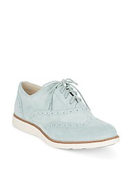 Cole Haan Original Grand Suede Wingtip Oxfords Waterstone