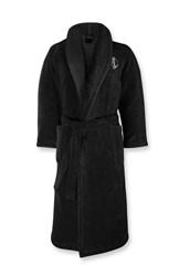 Ralph Lauren Home Langdon Bath Robe Black