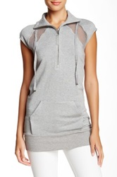 L.A.M.B. French Terry Tunic Gray