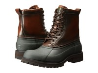 Frye Alaska Lace Up Forest Multi Wp Smooth Pull Up Men's Lace Up Boots Brown