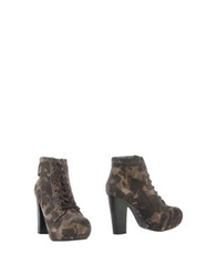 Replay Ankle Boots Cocoa