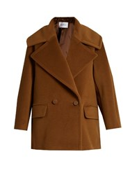 Max Mara Clima Coat Brown
