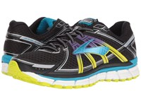 Brooks Adrenaline Gts 17 Black Hawaiian Ocean Lime Punch Women's Running Shoes