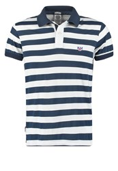 Franklin And Marshall Regular Fit Polo Shirt White Night Dark Blue