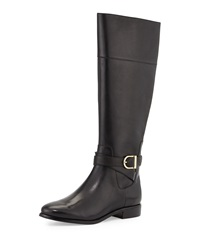 Cole Haan Catskills Buckled Leather Boot Black