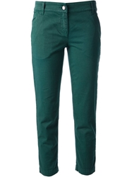 Dolce And Gabbana Skinny Cropped Jean Green