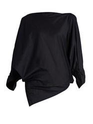 Vivienne Westwood Infinity Cotton Blouse Navy