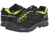 Salomon X Alp Ltr Gtx Black Gecko Green Aluminium Men's Shoes