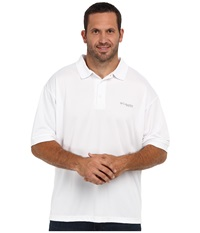 Columbia Perfect Cast Polo Tall White Men's Clothing