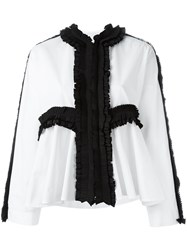 Antonio Marras Pleated Detail Blouse White