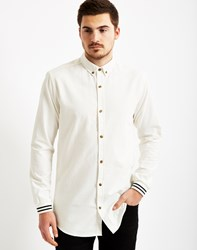 Only And Sons Mens Long Sleeve Shirt White