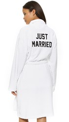 Private Party Just Married Robe White