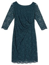 Precis Petite Paige All Over Lace Dress Green