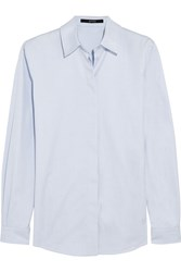 Gucci Cotton Oxford Shirt Light Blue