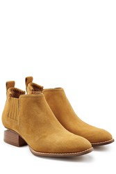 Alexander Wang Suede Ankle Boots Camel