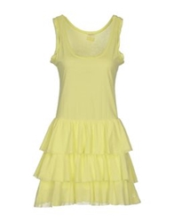 Dimensione Danza Short Dresses Light Yellow