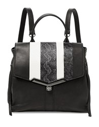Botkier Valentina Leather Backpack Black