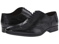 Clarks Banfield Limit Black Leather Men's Lace Up Wing Tip Shoes