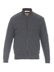 Tomas Maier Fleece Lined Wool Jacket
