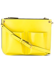 Marni 'Bandoleer' Shoulder Bag Yellow And Orange