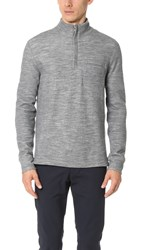 Todd Snyder Action Pullover Light Grey