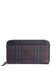 Burberry Plaid Zip Wallet Plaid Multi
