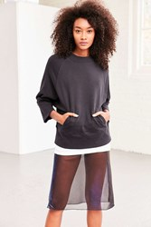 Silence And Noise Cristin Dolman Pullover Sweatshirt Black