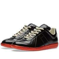 Maison Martin Margiela 22 Replica Low Metallic Sole Sneaker Black