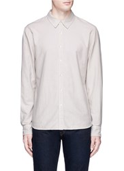 James Perse Cotton Moleskin Shirt Neutral