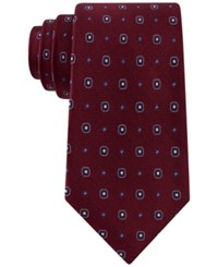 Club Room Men's Neat Dot Tie Only At Macy's Burgundy