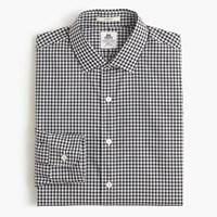 Thomas Mason For J.Crew Ludlow Shirt In Black Gingham
